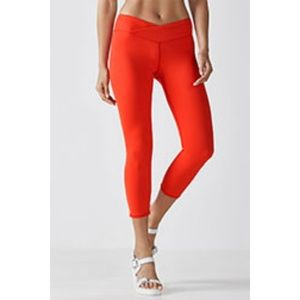Fabletics red capri leggings